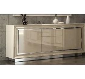 LA Star ivory 2 door 3 drawer buffet