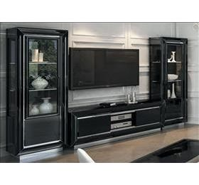 LA Star black tv entertainment set