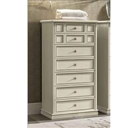 Camel Nostalgia Bianco Antico Chest of Drawer - 7 Drawer
