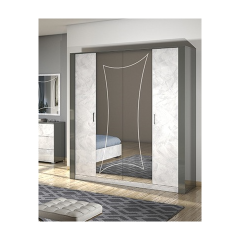 San Martino Olivia 4 Door Wardrobe