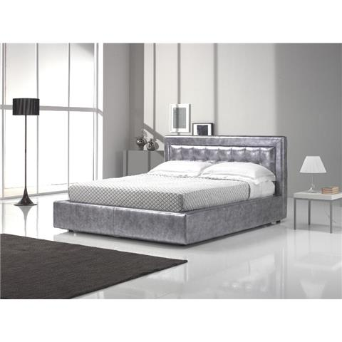 Afrodite leather bedframe