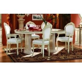 rossella dining table and 4 chairs and 2 carvers.
