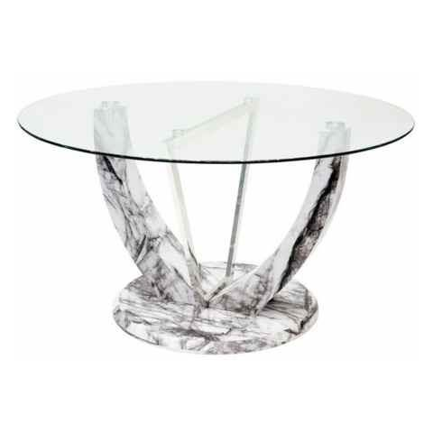 Jericho Round Glass Dining Table