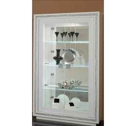 Prestige White Diamante 2 Door Wall Uint
