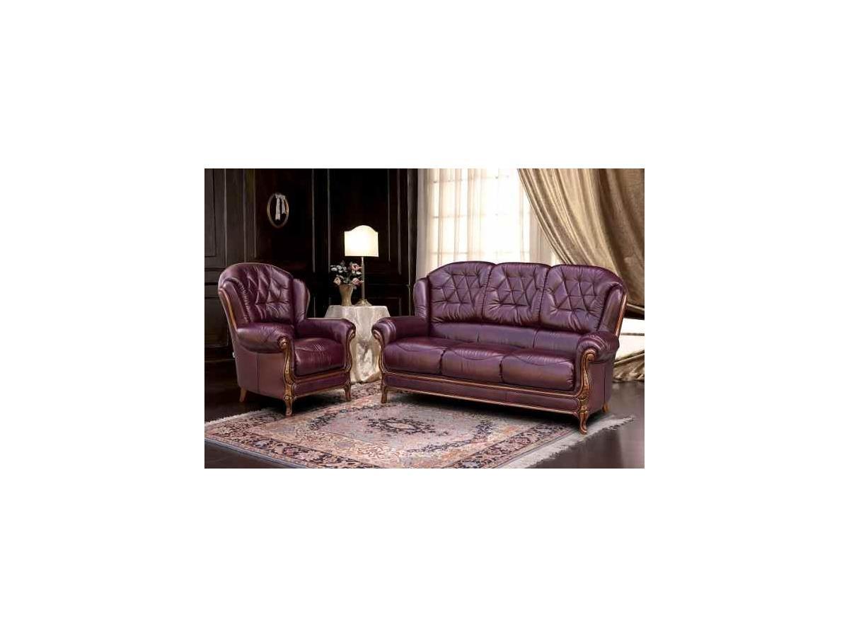 Giulia Italian Leather 3 1 1 Sofa Suite