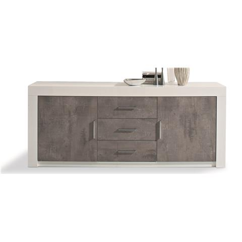 Parma Grey Highgloss Sideboard