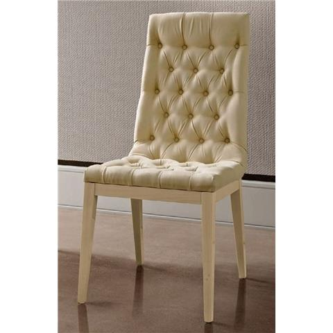 Camel Ambra Italian Capitonne Dining Chair