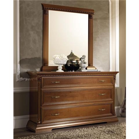 Camel Treviso Night Cherry Wood Italian Dresser